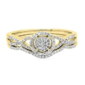 CERTIFIED 0.25 ctw Diamond Ring